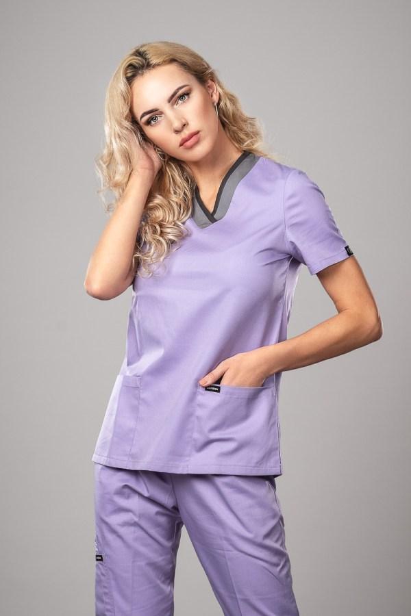 Pyjama medical Lilac Face +