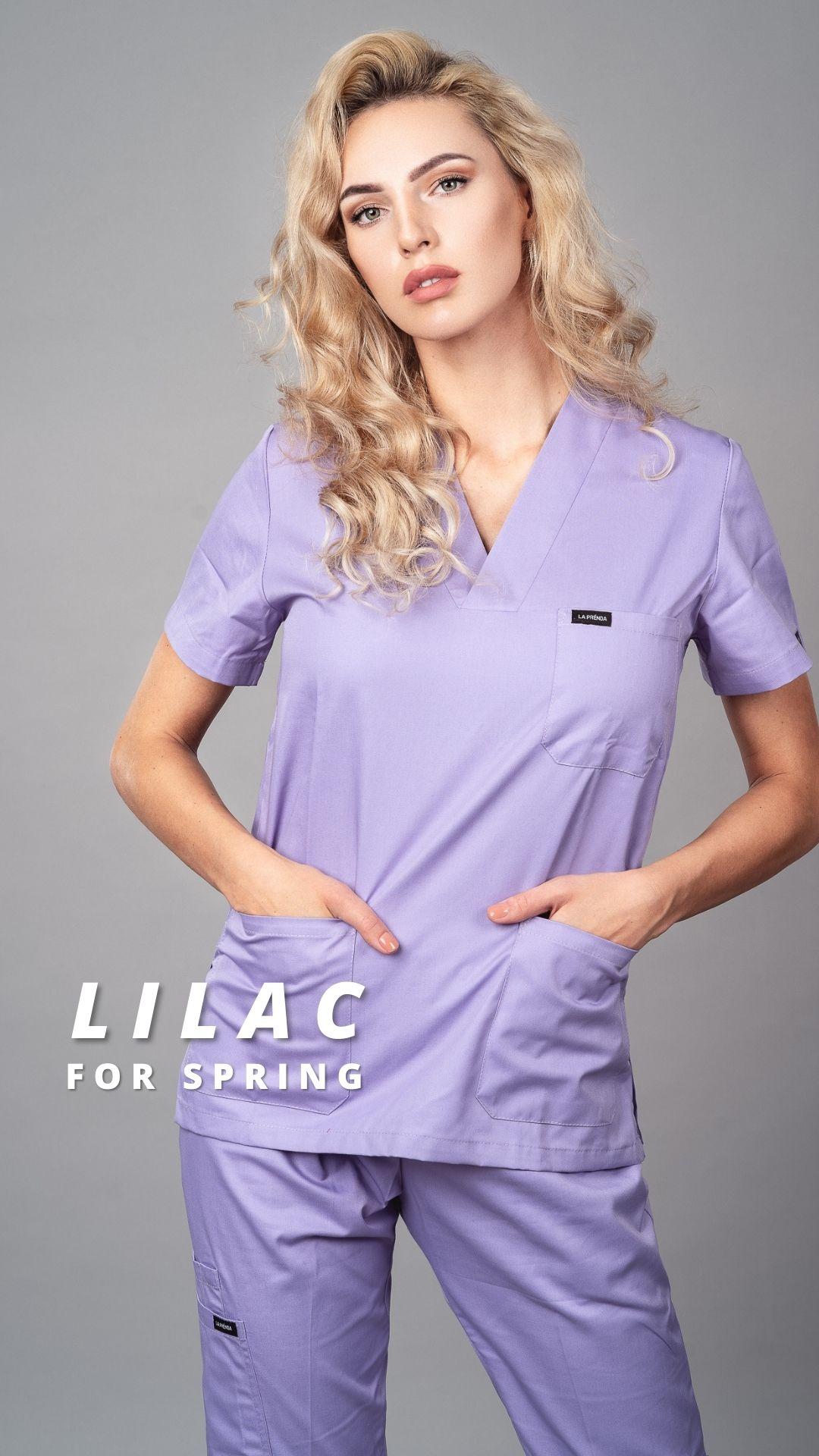 Pyjama medical Lilac Face 6