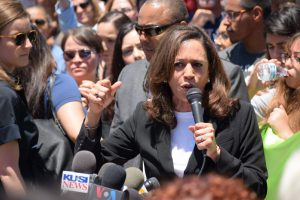 Kamala Harris, Oray Mesa Detention Center, Family Separation