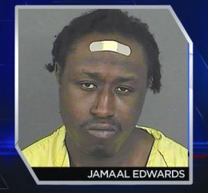 Jamaal Marquiz Edwards, sospechoso de doble homicidio.