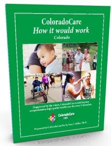 Portada del folleto de ColoradoCare