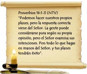 Proverbios 16-1-3