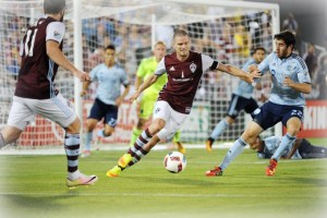 Colorado Rapids vencieron al Sporting Kansas City 1-0 el sábado por la noche, aumentando la racha invicta de Colorado a 14. (Foto:CR/BY).