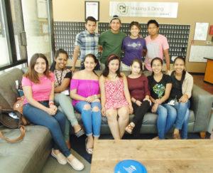 Jóvenes centroamericanos comparten sus sueños con La Prensa de Colorado. (Foto:LPDC/Germán González).