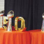 La muestra del poderío y triunfos de los Broncos. (Fotos:LPDC/Germán González)