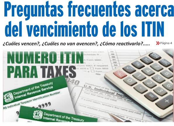 Preguntas frecuentes acerca  del vencimiento de los ITIN