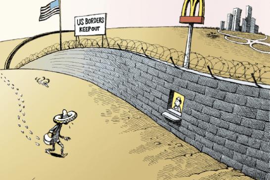 Frontera – Le mur de Trump, un projet pharaonique qui fait «Flop» !