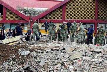 Après le séisme qui a fait 96 morts, les recherches s'arrêtent ! (Video)