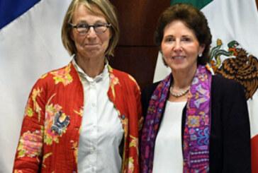 La ministre de la Culture, Françoise Nyssen au Mexique !