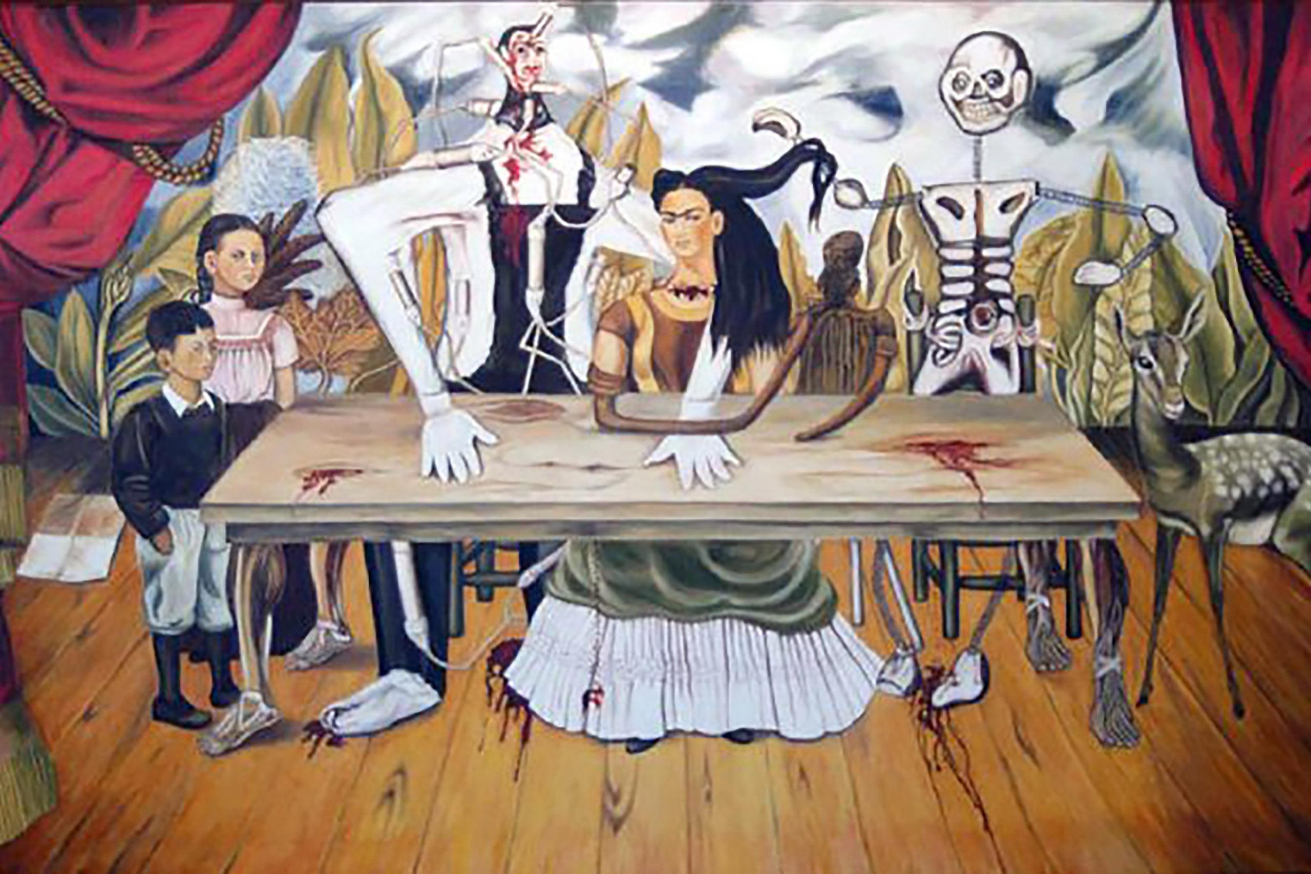 Insolite Recherche Tableau De Frida Kahlo Desesperement La Prensa Francesa