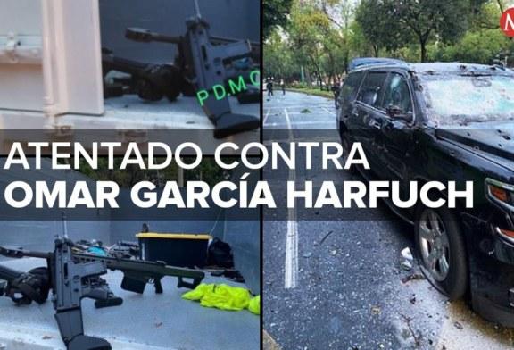 Attentat contre le chef de la sécurité de Mexico : 20 arrestations ! (Vídeo)