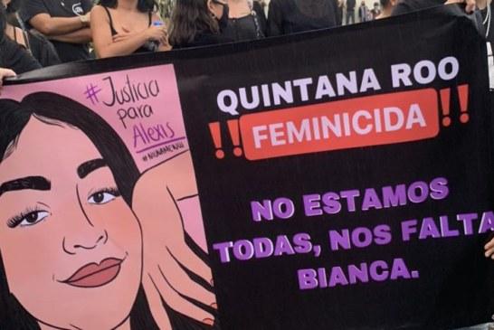 Féminicides – La manifestation à Cancun fait 4 blessés dont 2 journalistes par balles !
