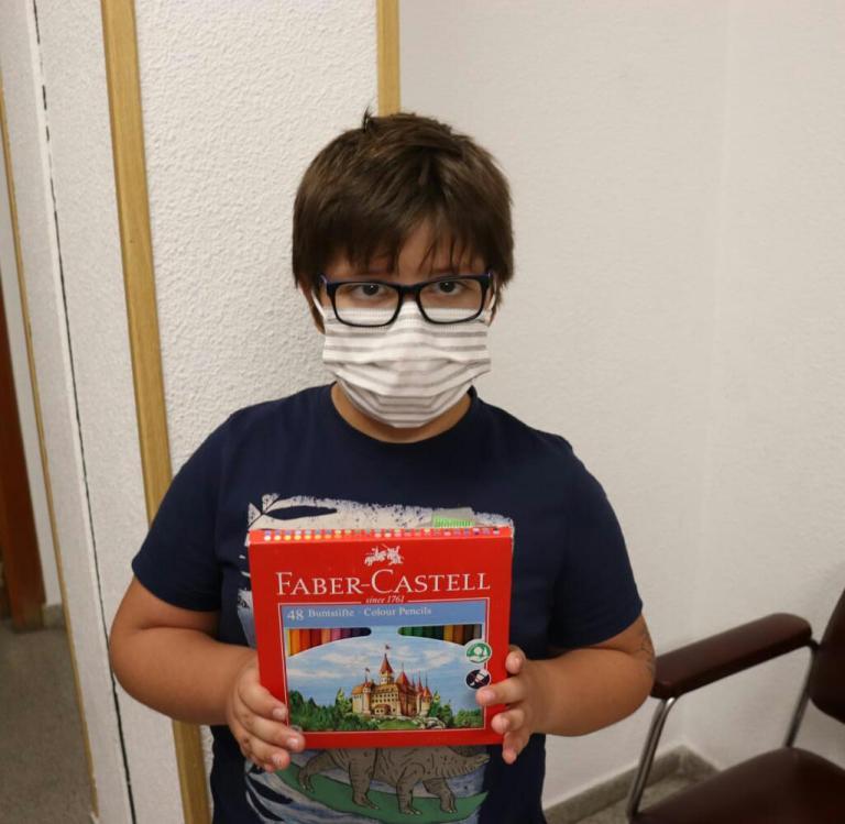 Carlos Osorio (8 años)