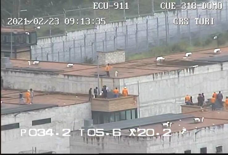 VIDEO: Se registran amotinamientos en dos cárceles de Ecuador - La Primicia