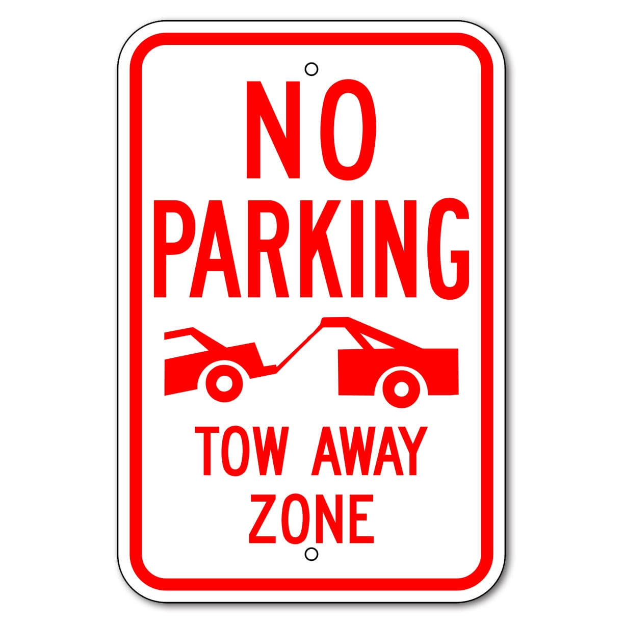picture relating to Printable No Parking Signs identified as No Parking Signs or symptoms Aluminum Developed Large Top quality-Future Working day Delivery