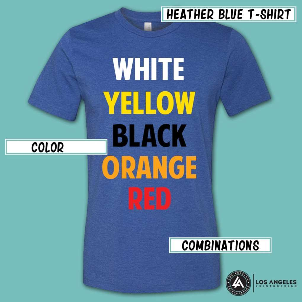 8a80d94d Choosing the Right T Shirt Color for Printing and Branding