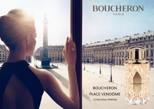 Boucheron parfum : Place Vendôme