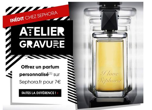 Personnaliser votre parfum chez Sephora