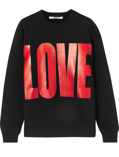 Givenchy-sweat-amour
