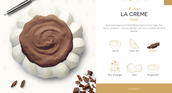 dessert: pavlova personnalisée