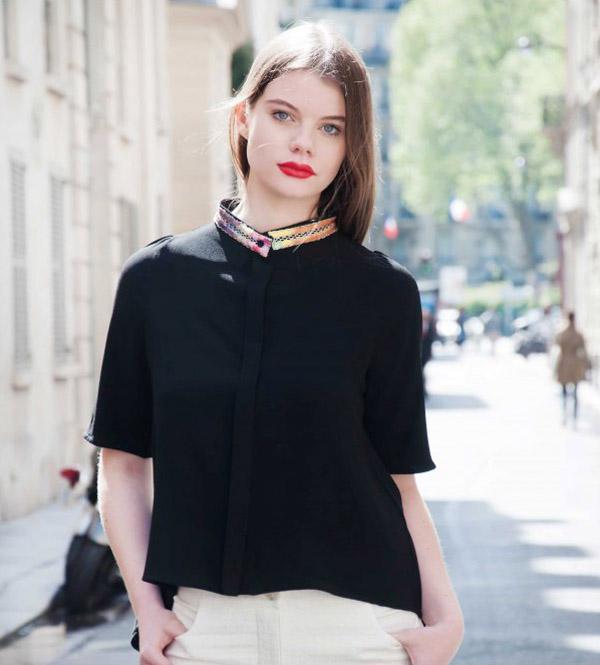 ken okada - chemise - couture femme