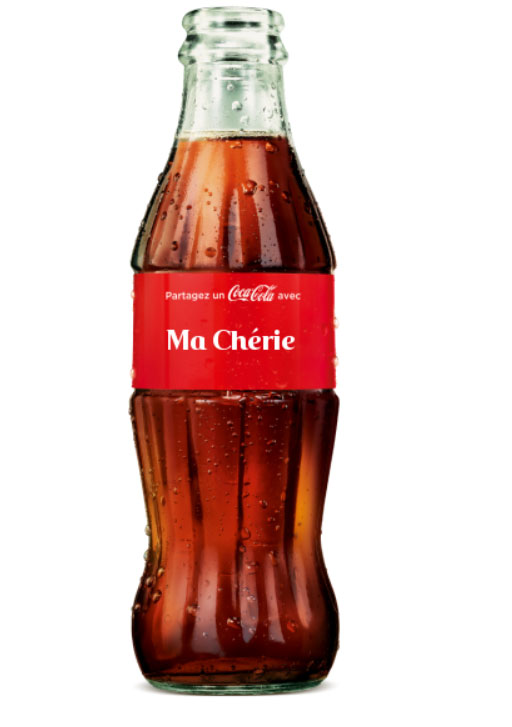 Coca-Cola personnalisation