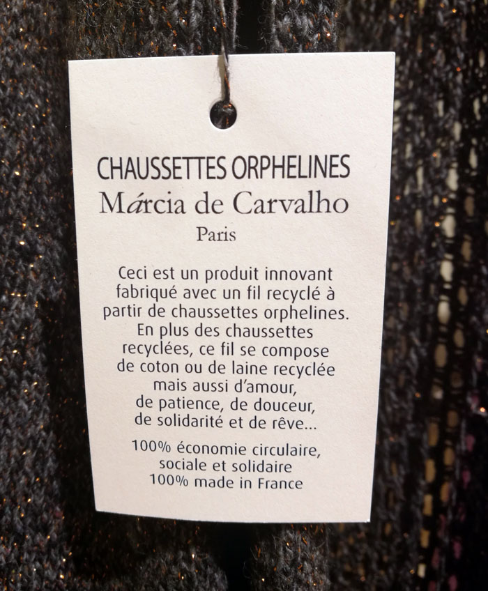 chaussettes orphelines mode solidaire