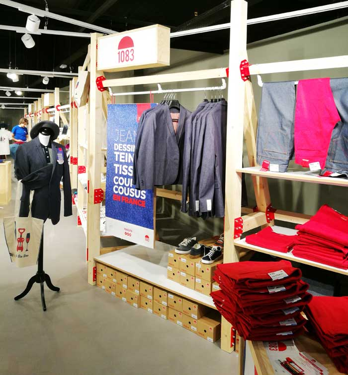 Pop Up Store Origine France Garantie