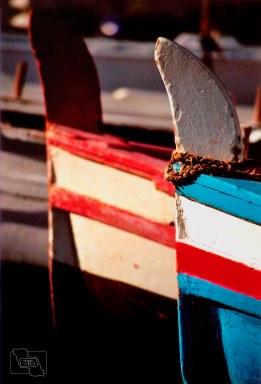 029 - Islas Eolias - Lípari - Barcas en Marina Corta