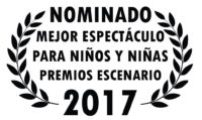 LAUREL NOMINADO PREMIOS ESCENARIO 2017