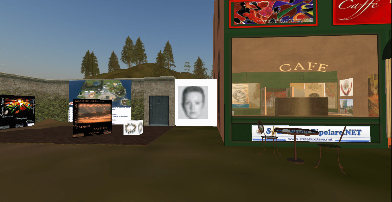 Caffè Freud, in Second Life
