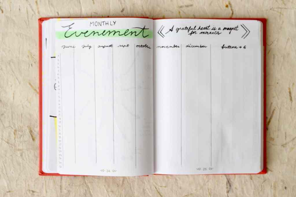 Bullet-journal-exemple-calendrier-evenement