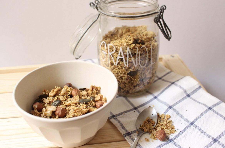 Granola vegan sain et gourmand