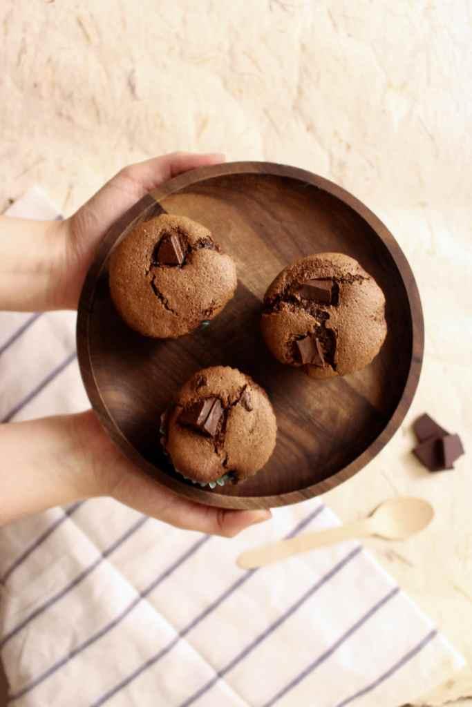 muffins-vegan-recette-chocolat