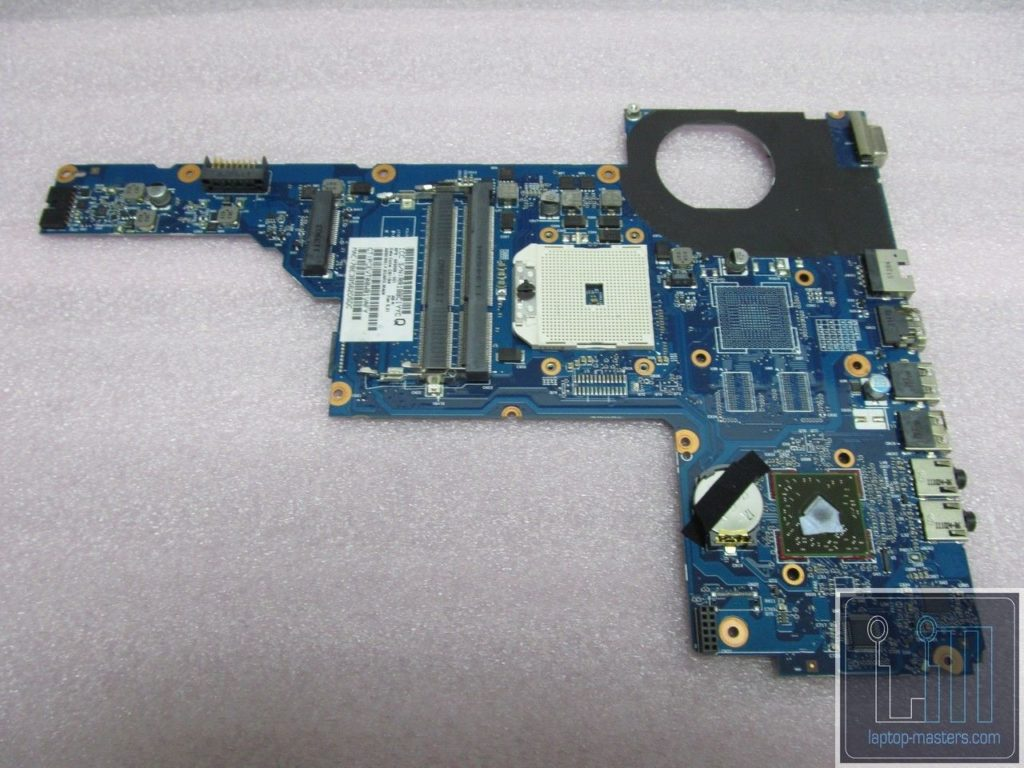 HP G6 G6-1000 AMD Motherboard 649288-001 *AS IS NOT WORKING + BAD USB PORT*