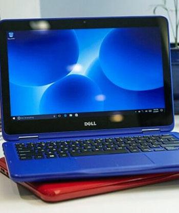 Tampilan antarmuka Dell Inspiron 11-3168 (sumber: technuggetz.biz)