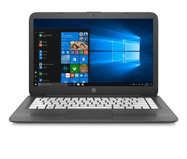 cheap laptop - HP Stream Laptop PC 14-ax030nr (Intel Celeron N3060, 4 GB RAM, 64 GB eMMC, Gray)