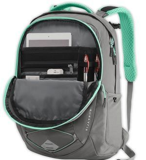 Internal Design of The North Face Women Borealis Laptop Backpack