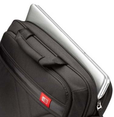 Case Logic DLC-115 15.6-Inch Laptop and Tablet Briefcase padded laptop compartment