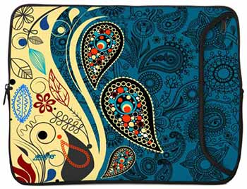 Designer Sleeves Paisley Fashion Sleeve for 13-Inch Laptop