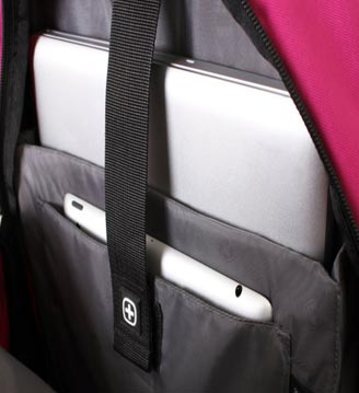 Internal Design of SwissGear Laptop Backpack For Women