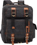 Bluboon Rucksack Vintage Laptop Backpack