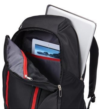Internal Design of Case Logic Evaluation Pro Laptop and Tablet Backpack