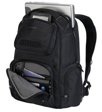 Internal Design of Targus Legend IQ Laptop Backpack