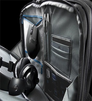 Internal design of Dell Alienware Vindicator Briefcase