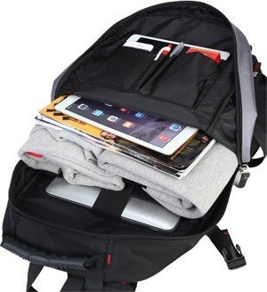 Internal design of KAKA Multi-Purpose Laptop Book Bag