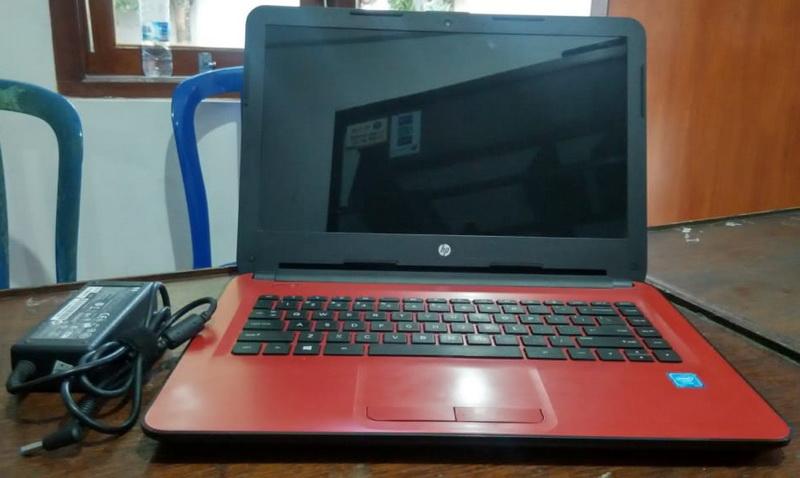 laptop bekas hp 14-am010tu