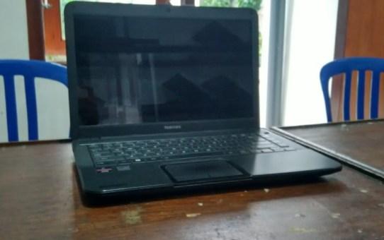Jual Laptop Bekas Toshiba C800D
