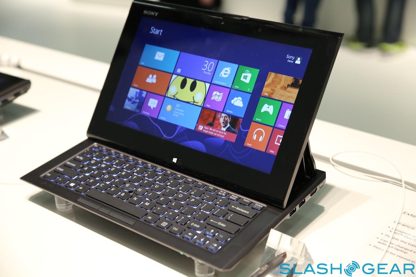 Sony Perkenalkan VAIO Duo 11 Dan VAIO Tap 20 LaptopCentro