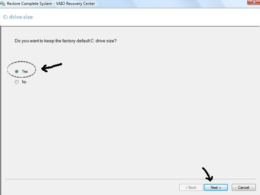 Format Ulang atau Recovery Sony VAIO (6/6)